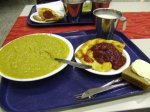 Pea Soup with Pancakes and Lingonberries