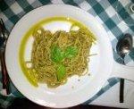 Fresh Spaghetti with Freshly made Pesto!