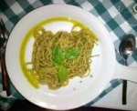 Fresh Spaghetti with Freshly made Pesto!