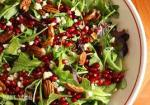 Salad with Pomegranate Seeds