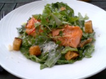 Smoked Rainbow Trout Caesar Salad