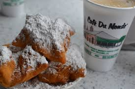 Beignets at Café du Monde in New Orleans