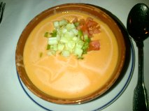 Gazpacho at Botin