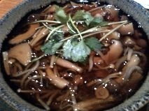 Hot Soba With Wild Mushrooms